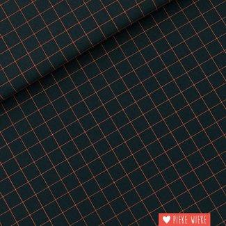 See You at Six Canvas katoen Thin Grid - Small