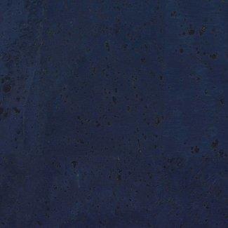 Zipper zoo Cork fabric Dark blue