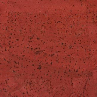 K-Bas Cork fabric Red