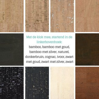 K-Bas Cork fabric, Precut
