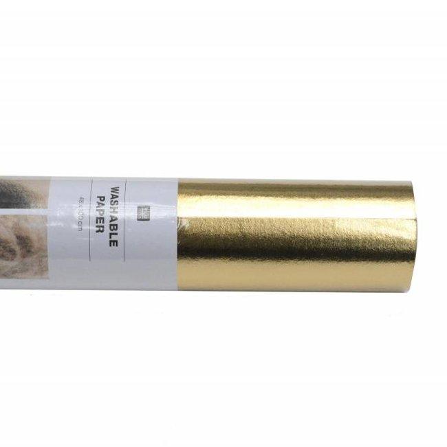 Rico Design Wasbaar papier Goud