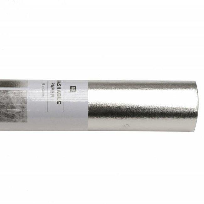 Rico Design Wasbaar papier Zilver