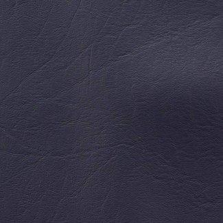 K-Bas Kunstleer Donkerblauw met structuur