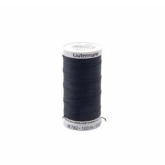 Gütermann Extra strong sewing thread Black