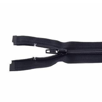 Coil zipper 20cm Black