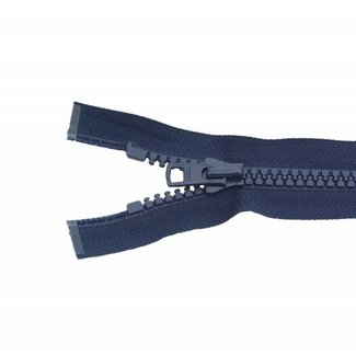 Molded plastic teeth zipper 20cm Dark blue