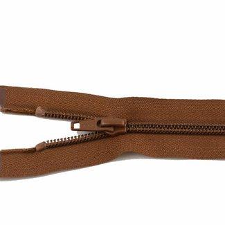 YKK Coil zipper 65cm Cognac