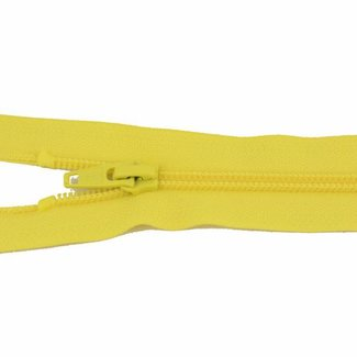 YKK Spiraalrits 65cm Citroengeel