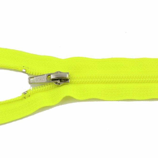 YKK Coil zipper 45cm Fluo yellow