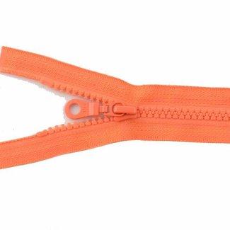 YKK Molded plastic teeth zipper 45cm Orange