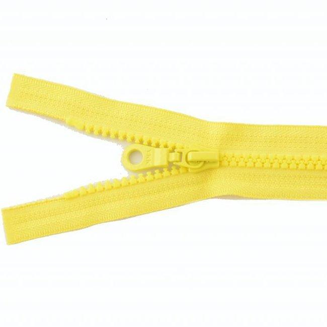 YKK Molded plastic teeth zipper 65cm Lemon