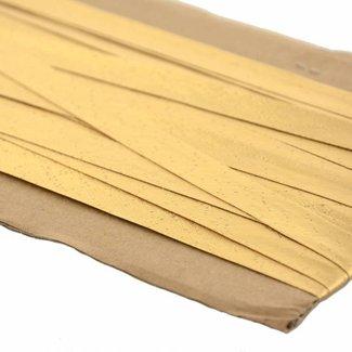K-Bas Bias tape lurex Warm gold