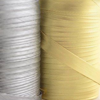 K-Bas Bias tape lurex smooth Gold