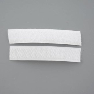 K-Bas Hook and loop tape 16mm White