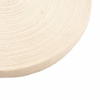 K-Bas Twill tape Off white 15mm