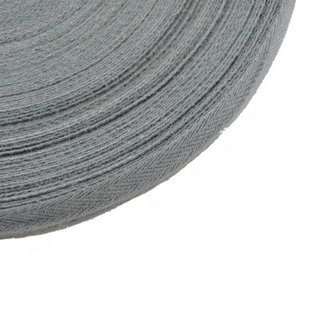 K-Bas Twill tape Concrete grey 15mm