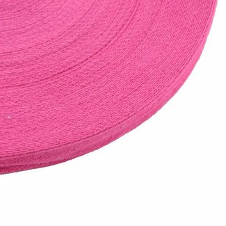 K-Bas Twill tape Fuchsia 15mm