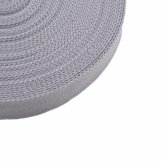 Tassenband Lichtgrijs 25mm