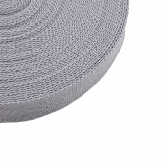 Webbing Light grey 25mm