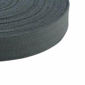 Tassenband Donkergrijs 25mm
