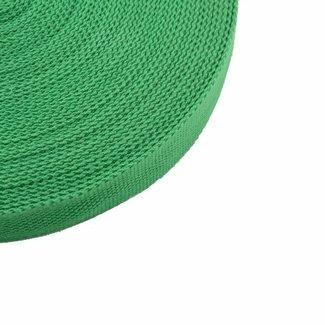 Tassenband Grasgroen 32mm