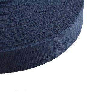 Tassenband Donkerblauw 38mm