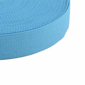 Tassenband Lichtblauw 38mm