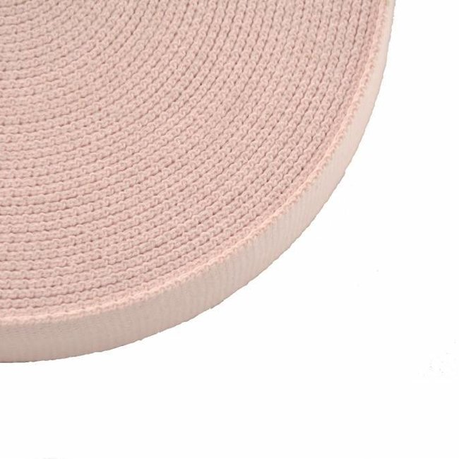 Webbing Light pink 30mm