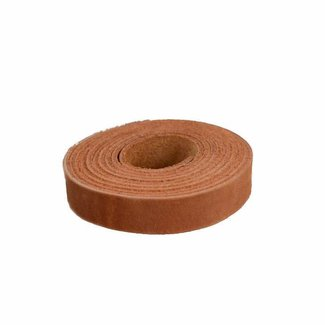 K-Bas Smooth leather strap Cognac 15mm