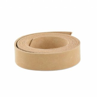 K-Bas Smooth leather strap Natural 28mm