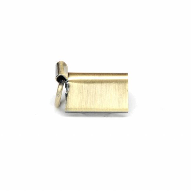 K-Bas Bag clamp with D-ring Anti-brass 10mm
