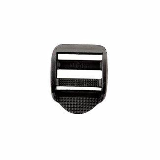 Laddergesp Kunststof Zwart 25mm