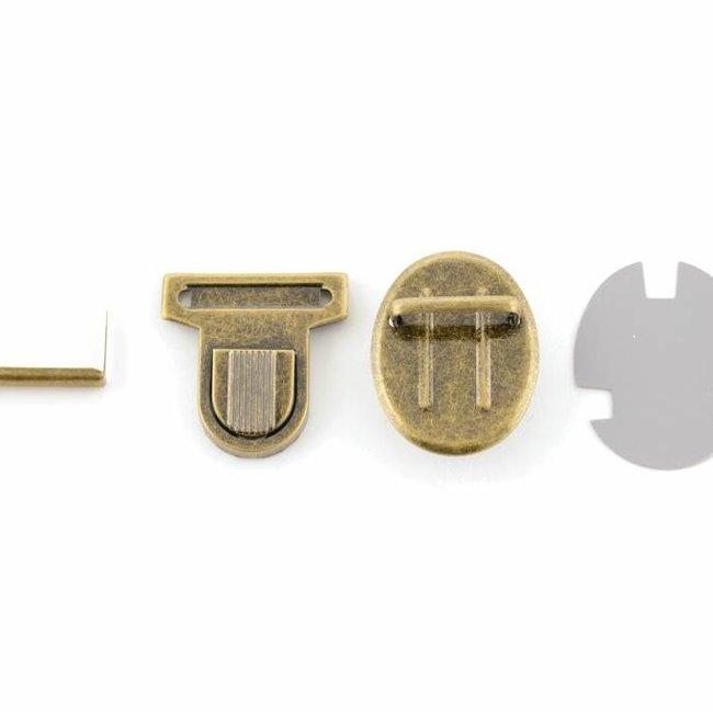 Tuck lock with rib Anti-brass groot