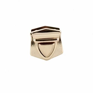 Triangular tuck lock Gold