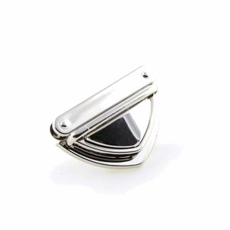 Triangular tuck lock Nickel