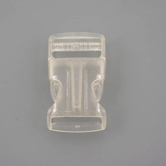 Transparent side release buckle 25mm