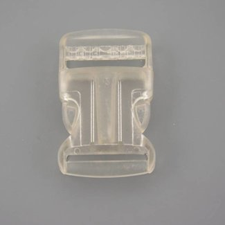 Transparent side release buckle 32mm