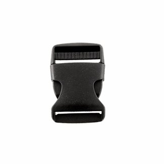 Black side release buckle 50mm