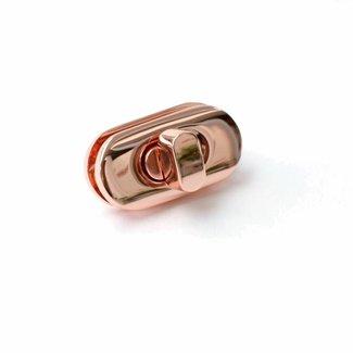 Emmaline Bags Draaisluiting Rosé Goud