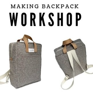 K-Bas Workshop Making Backpack 11/5/2019