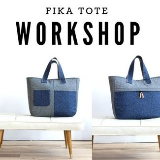 K-Bas Workshop Fika Tote 7/4/2019