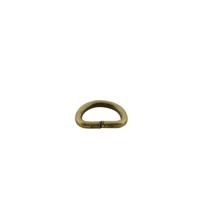 K-Bas D-ring Brons 12mm