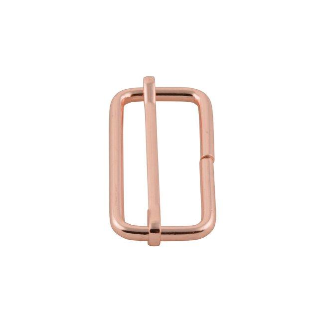 K-Bas Schuifgesp Rosé goud 38mm