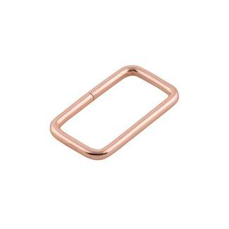 K-Bas Passant Rechthoekig Rosé goud 32mm