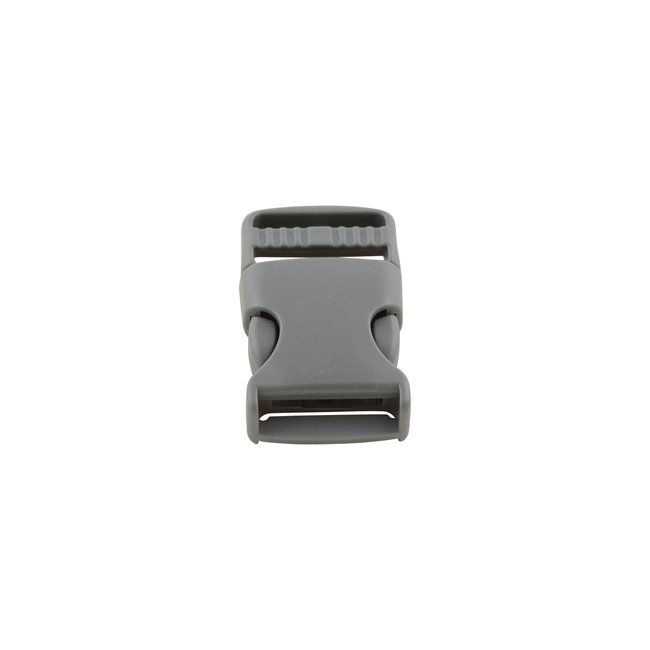 K-Bas Dark grey side release buckle 25mm