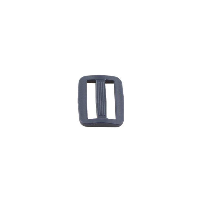 Zipper zoo Schuifgesp Kunststof Donkerblauw 25mm