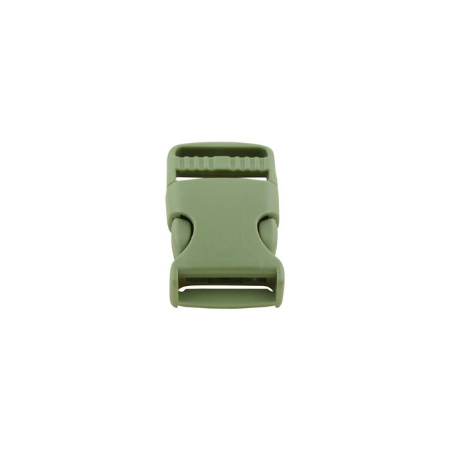 K-Bas Army green side release buckle 25mm