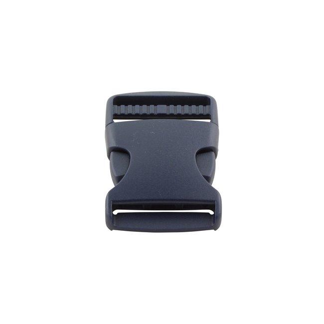 K-Bas Kunststof klikgesp Donkerblauw 38mm