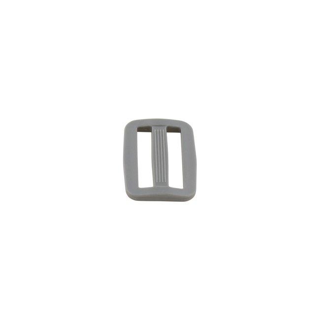 K-Bas Adjustable slider plastic Dark grey 25mm