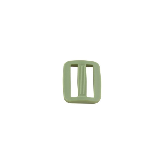 K-Bas Adjustable slider plastic Army green 25mm